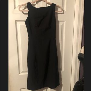 3/$25 Express fit and flare little black dress